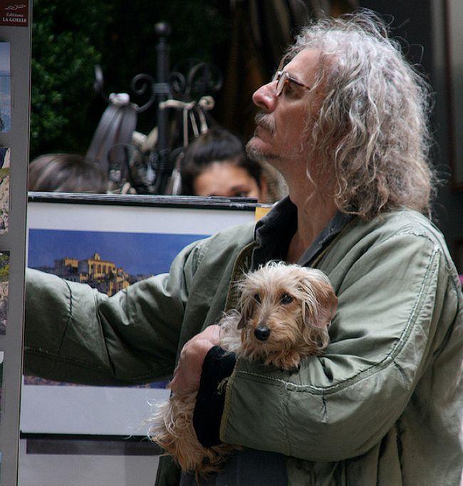 Cachorros e seus donos (2)