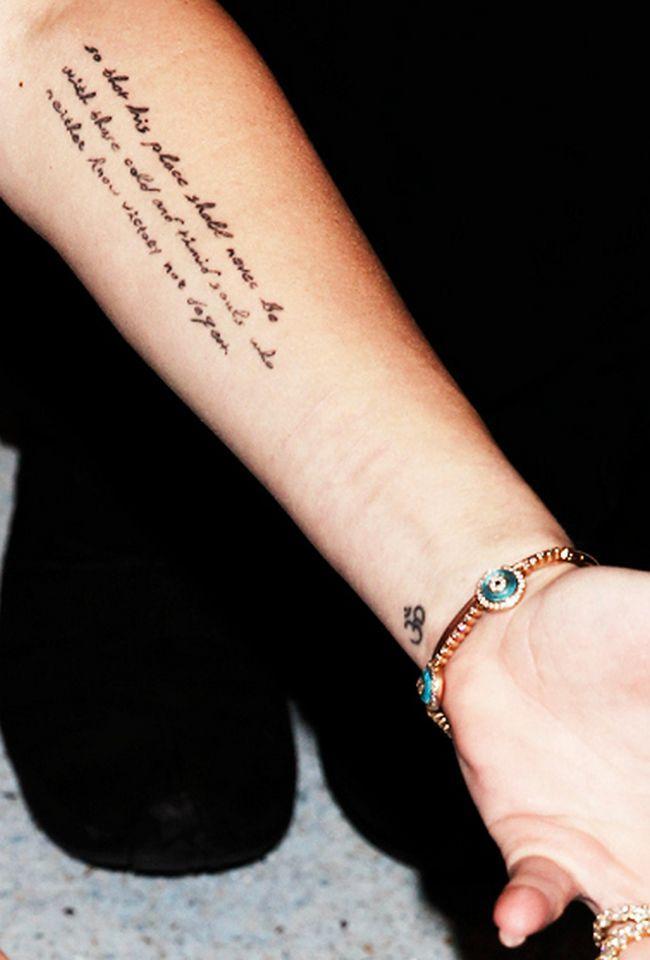 33 Ideias De Lugares Perfeitos Para Fazer Uma Tatuagem