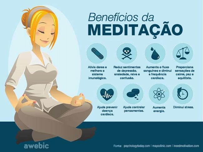 Benefícios meditação