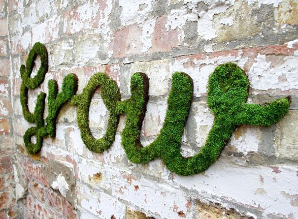 Tecnica do Moss Graffiti permite criar artes impressionantes