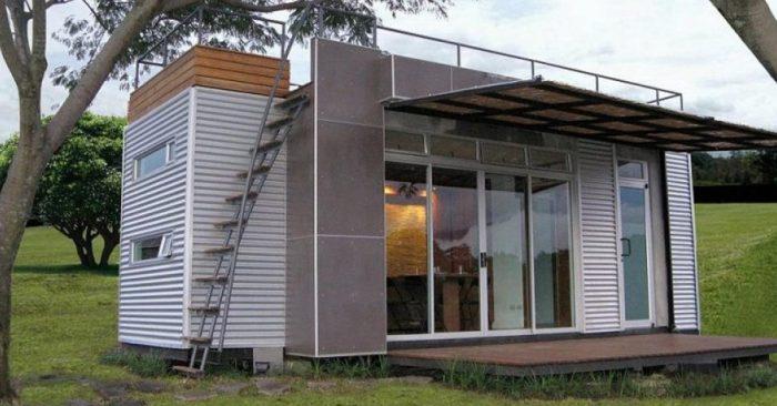 Tem s 15 m mas o interior incr vel voc n o vai - Casa container espana ...