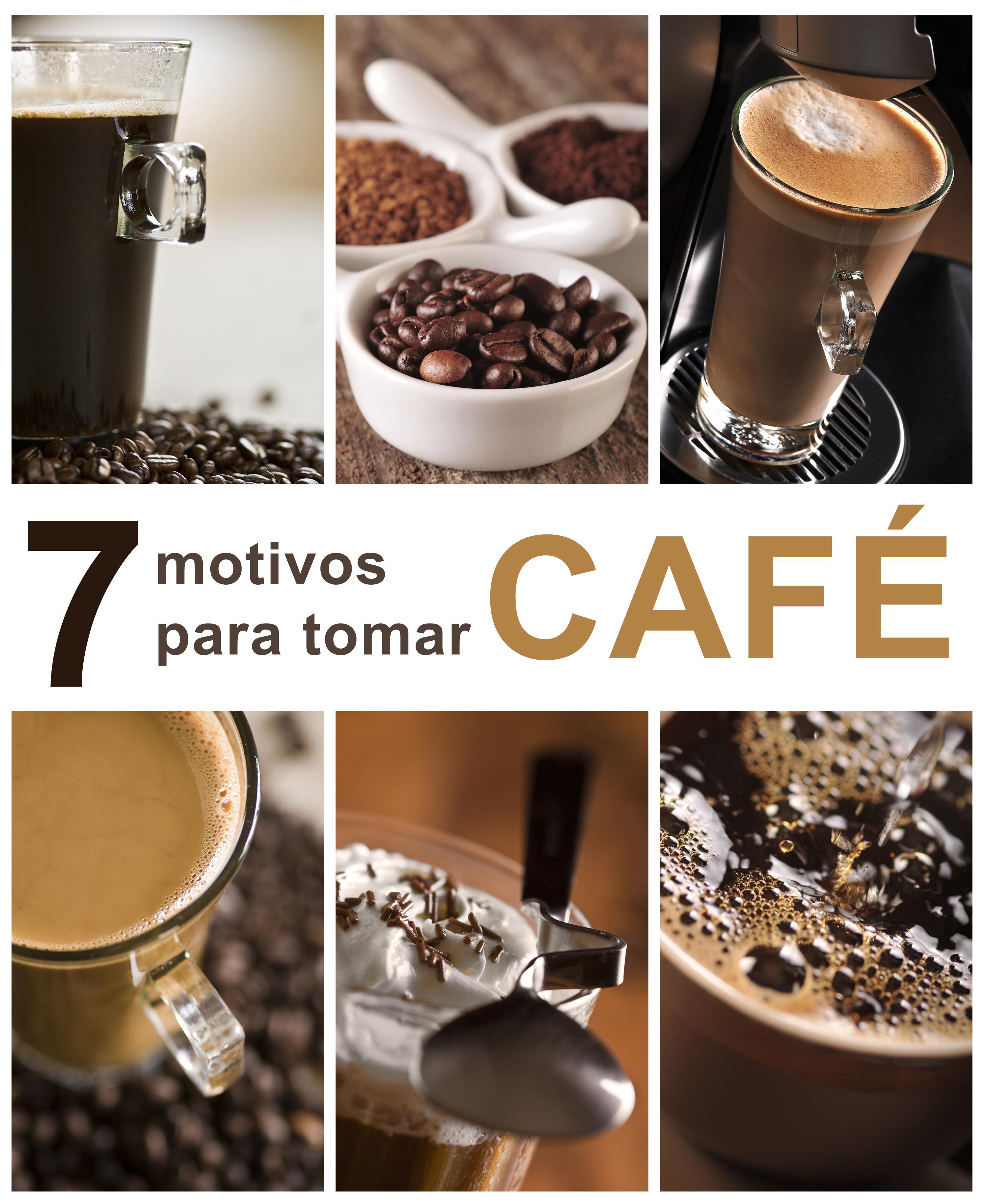7 motivos para tomar café