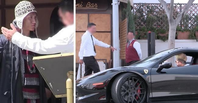 Jovem é expulso por se vestir como mendigo. Então ele volta numa Ferrari para ensinar uma lição.
