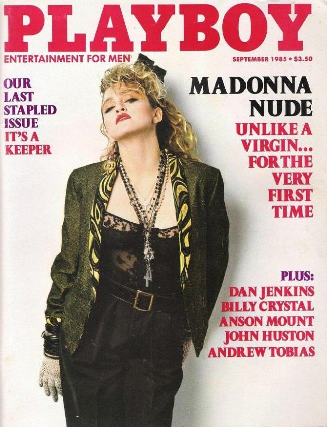Até a Madonna foi capa da revista, em 1985.