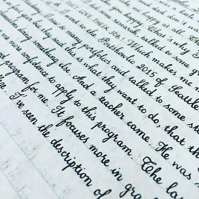 Conhecido 15 belos exemplos de caligrafia para te deixar de boca aberta QQ33