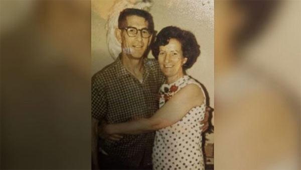 Harvey e Mildred em data desconhecida. Arquivo do Facebook de Lisa Epperly.