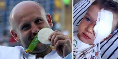 Atleta polonês leiloa sua medalha de prata para ajudar garotinho com câncer