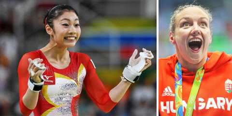 As 16 melhores reações dos atletas na Olimpíada do Rio até agora