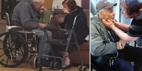 Casal de idosos separados pelo sistema de saúde volta a morar juntos