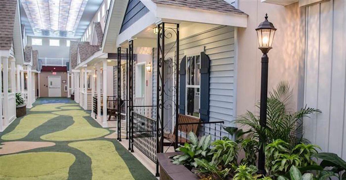 Nursing Home Designed Like A Town