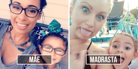 Mãe usa o Facebook para homenagear a madrasta de sua filha