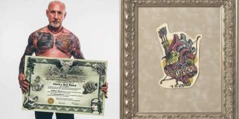 Este cara criou um jeito de eternizar as tattoos de pessoas que já morreram