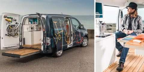 Nissan lança o escritório do futuro em forma de van elétrica