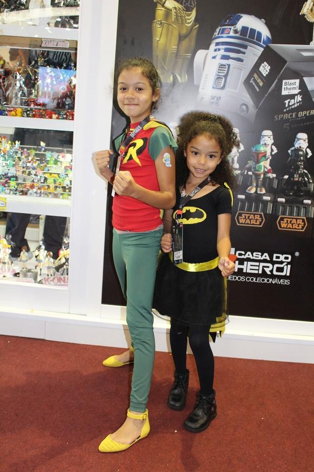 Meninas também gostam de super heróis!