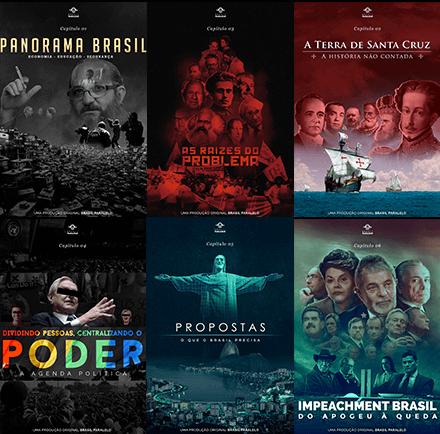congresso brasil paralelo episódios