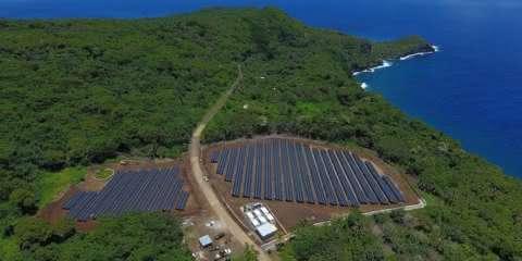 Tesla deixa ilha sustentável com energia 100% solar