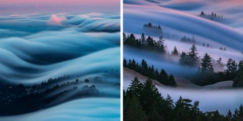 Fotógrafo captura a beleza da neblina de um jeito que você nunca viu