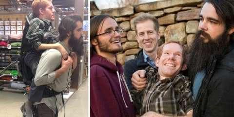 Homem com atrofia muscular realiza o sonho de conhecer a Europa com a ajuda de seus amigos