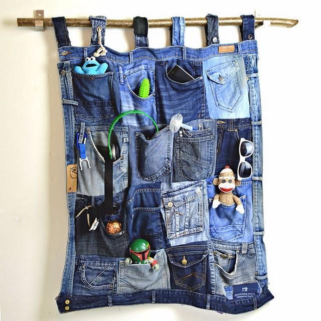 17 ideias criativas e práticas para reutilizar jeans velhos