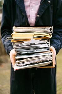 diplomas papelada