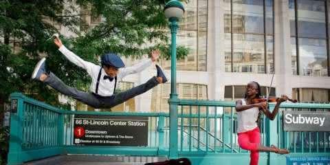 Talento nato: 12 fotos de pequenos dançarinos em ação