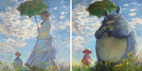 Artista digital recria pinturas clássicas com personagens da cultura Geek