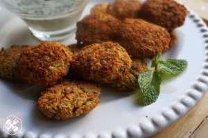 receita falafel