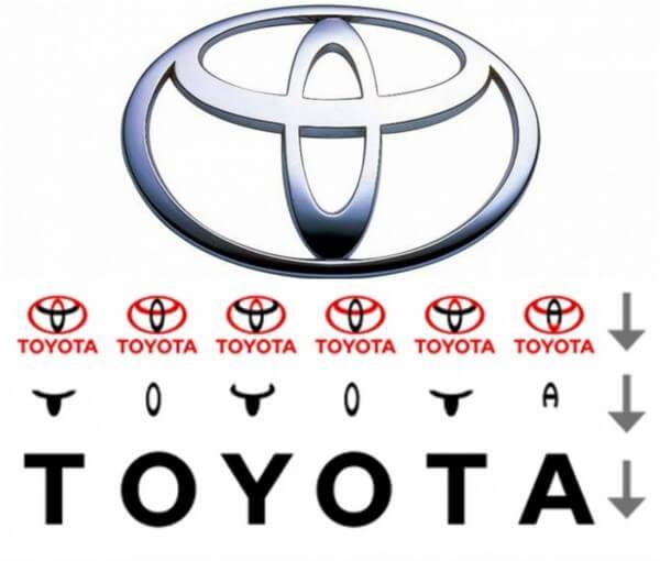 logotipo toyota