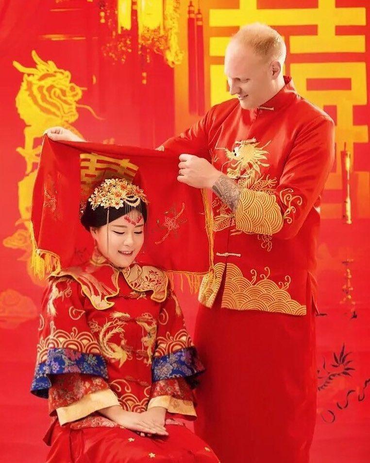 Trajes tradicionais de casamento na China