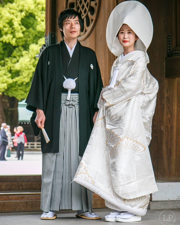 Trajes tradicionais de casamento no Japão