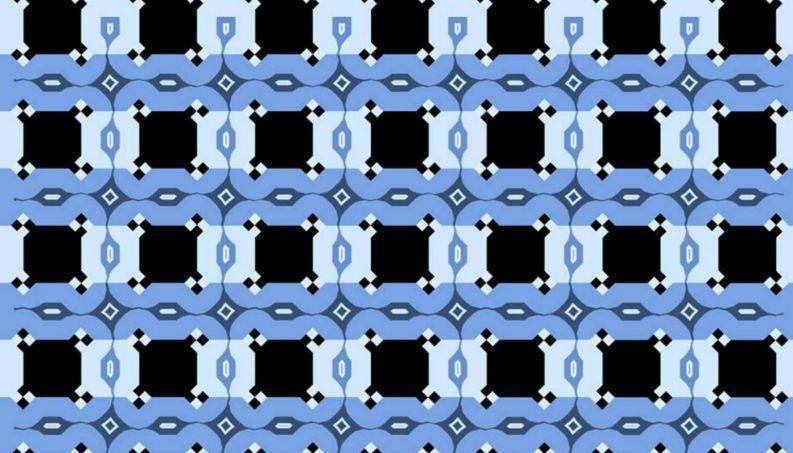 Ilusão de ótica criada pela ilusionista Victoria Skye