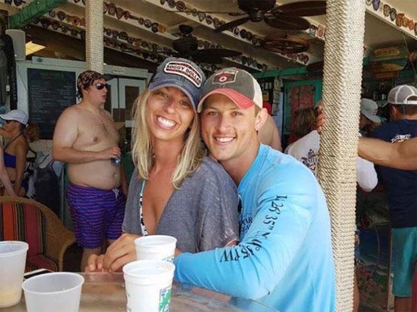 Foto original do casal