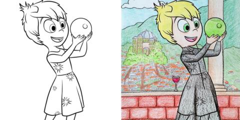 19 vezes que adultos coloriram livros infantis e o resultado foi surpreendente