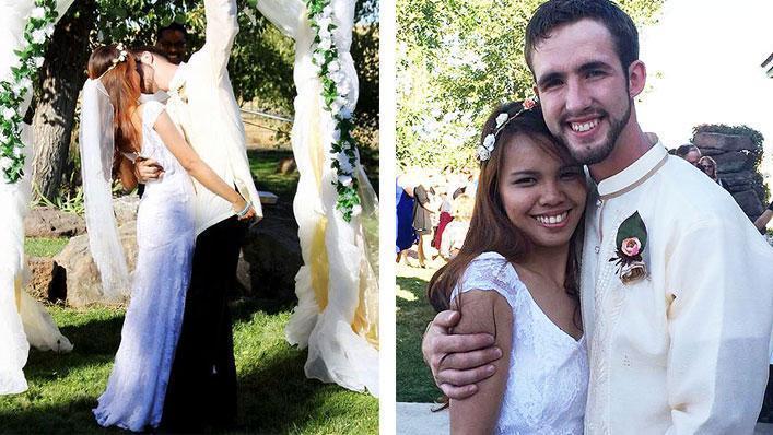 Fotos do casamento de Tyrel e Joana