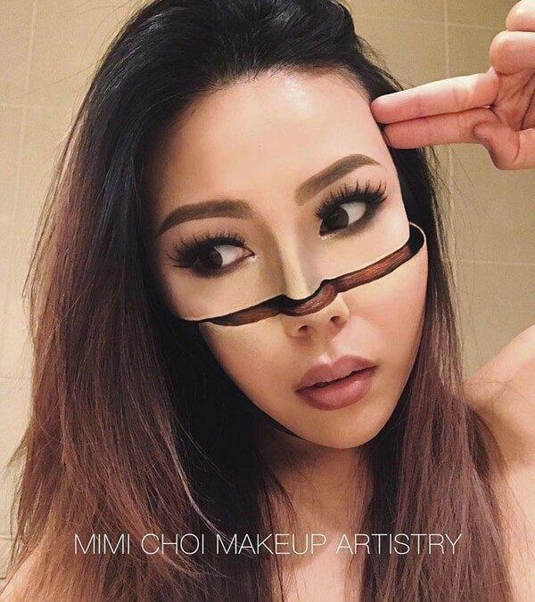 Maquiagem com ilusão de ótica (15)