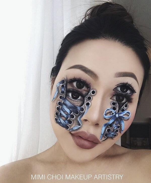 Maquiagem com ilusão de ótica (18)