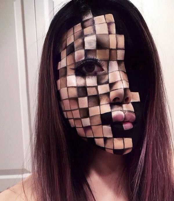 Maquiagem com ilusão de ótica (20)
