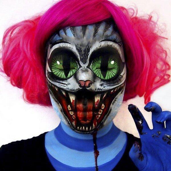 Maquiagem com ilusão de ótica (36)