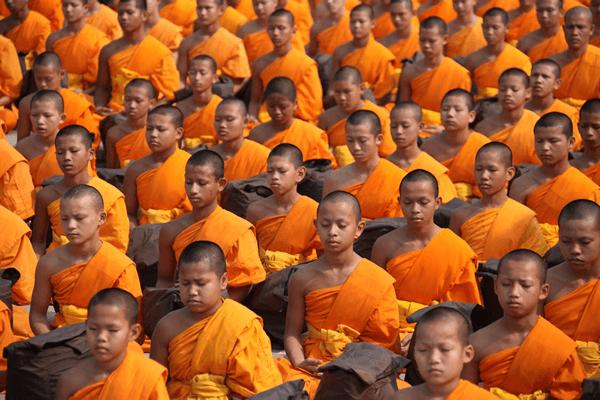 meditar de manha