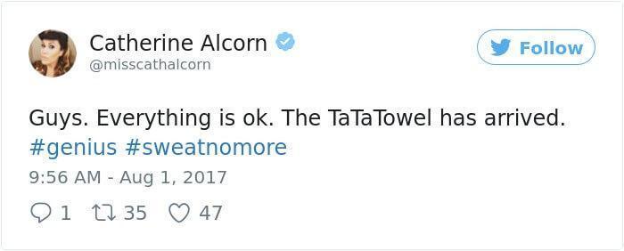 Ta-Ta Towel - Toalha para Seios (13)