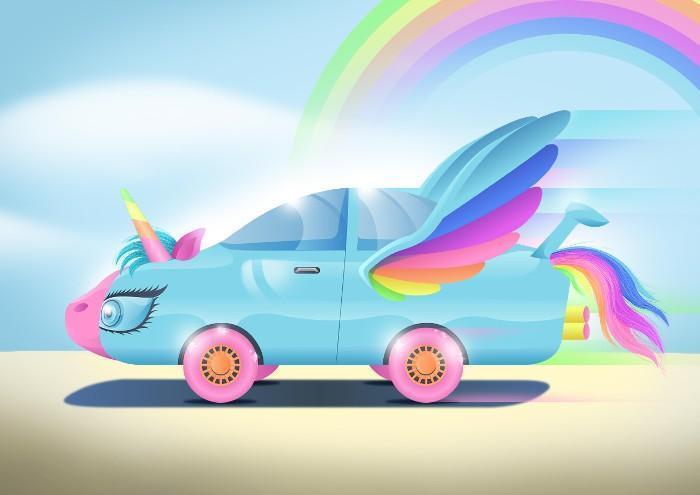 Carros do futuro desenhados por criança 16