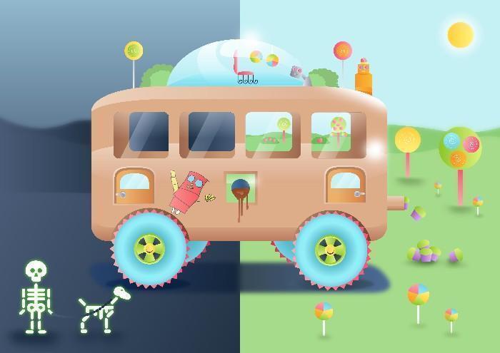 Carros do futuro desenhados por criança 6