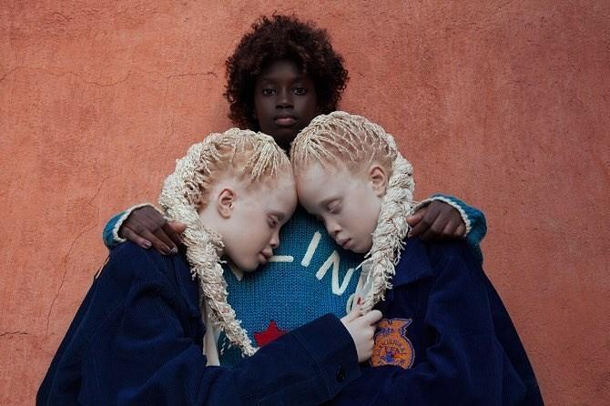 Modelos incomuns: as irmãs Bawar