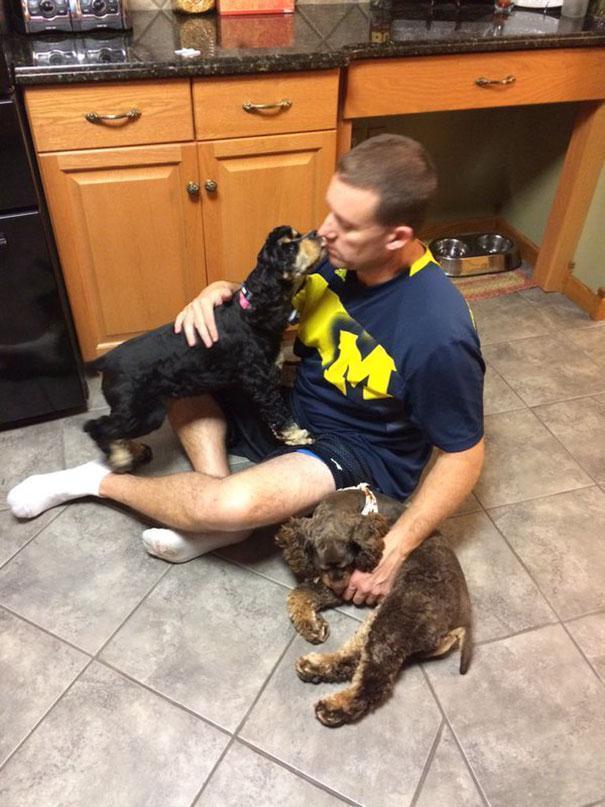 Pais que não queriam cachorros em casa 9