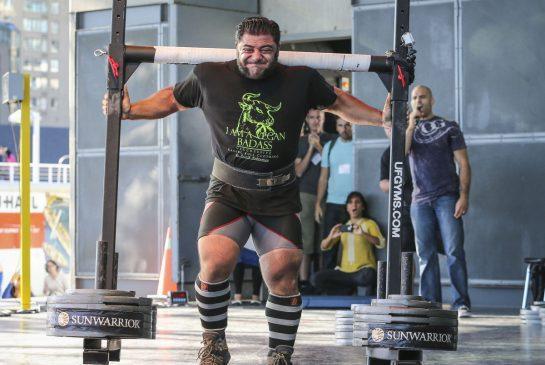 Bodybuilder vegano - Patrik Babomian