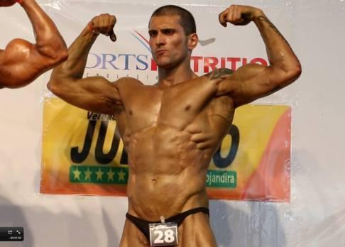 Bodybuilder vegano - Felipe Garcia do Carmo 2