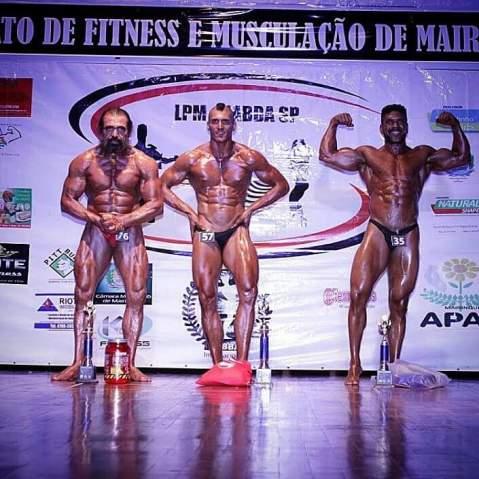 Bodybuilder vegano - Felipe Garcia do Carmo 3