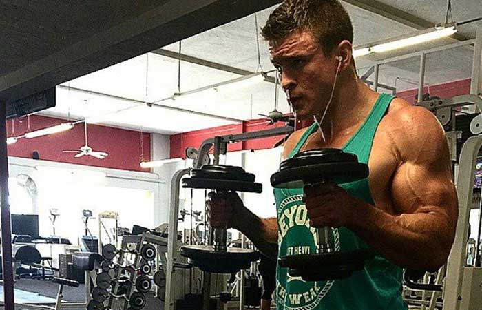 Bodybuilder vegano - Brian Turner