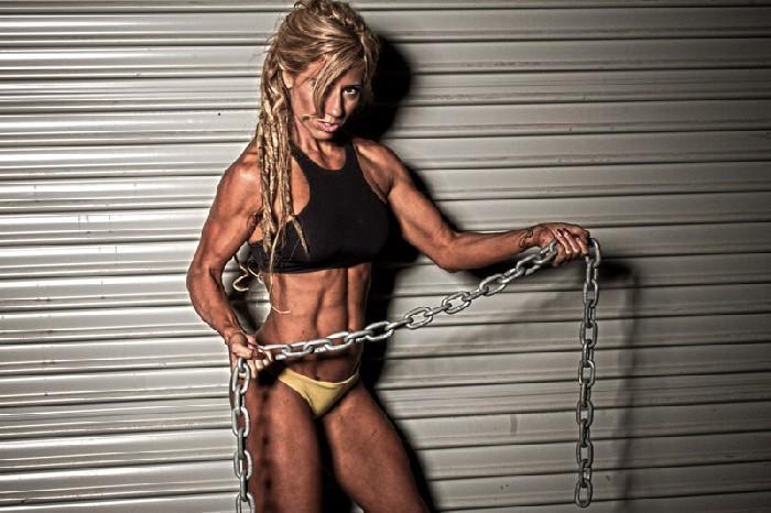 Bodybuilder vegano - Crissi Carvalho