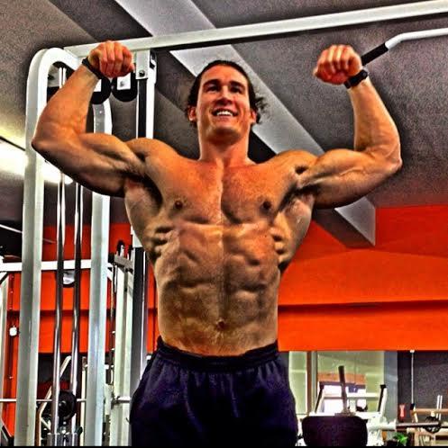 Bodybuilder vegano - Ryan Nelson